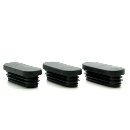 Oval Chair Leg Caps For Tubes 10mm 60mm Vital Parts